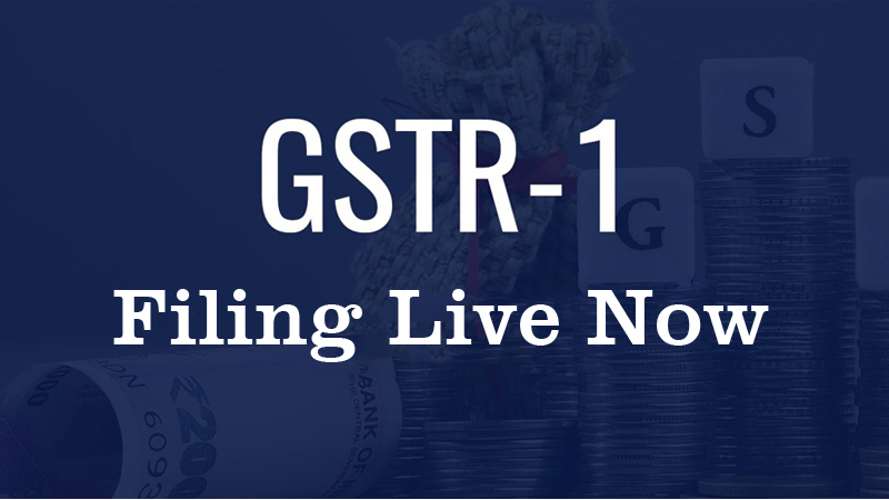 Filing of GSTR 1 (Quarterly or Monthly) is live now.